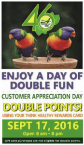 Double Points Day