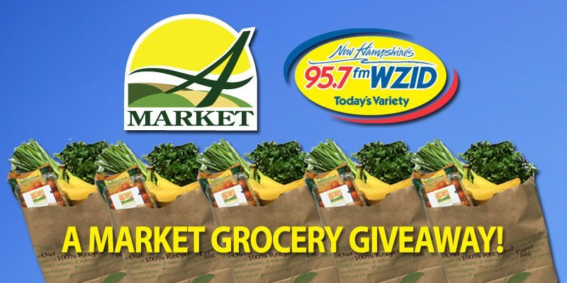 A Market and WZID team up <br>to give away FREE groceries for a year!