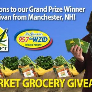 Janel Sullivan is the Grand Prize Winner for Grocery Giveaway!