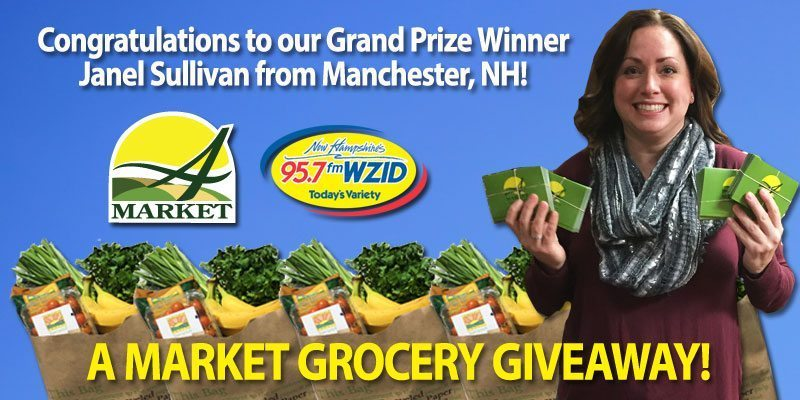 Meet our Grocery Giveaway Winner!