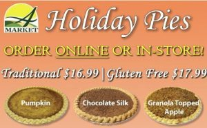 Order your holiday pies online