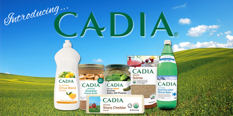 Cadia... Our newest product line!