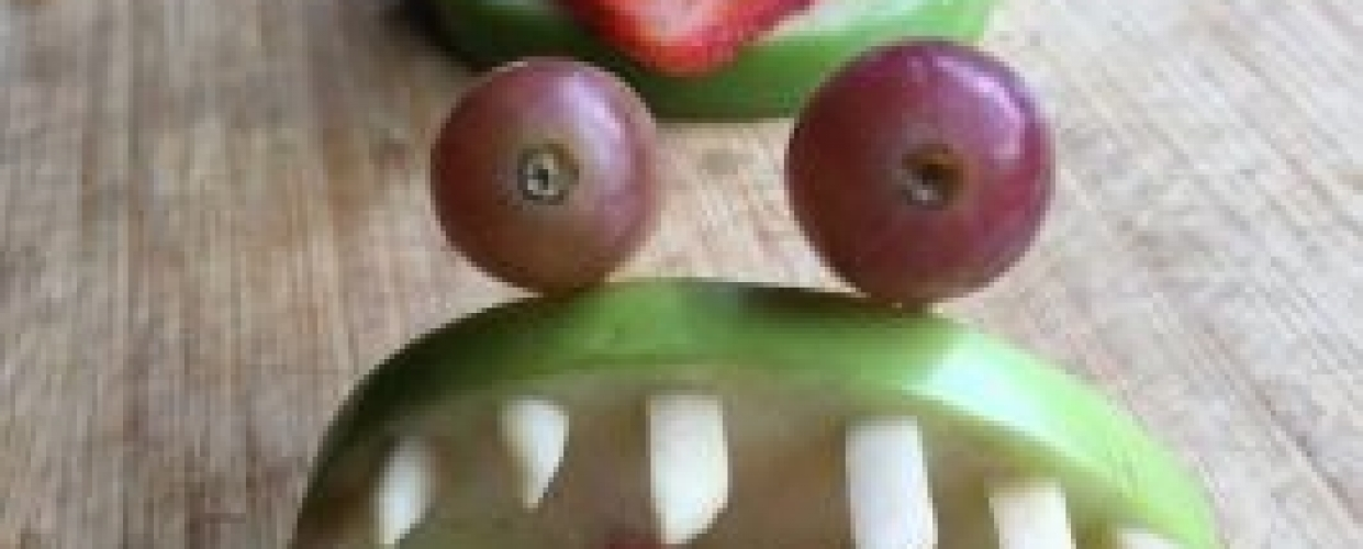 Apple Monster Bites
